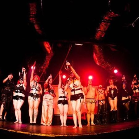 Frisky Business Burlesque Fet-Tease Curtain Call