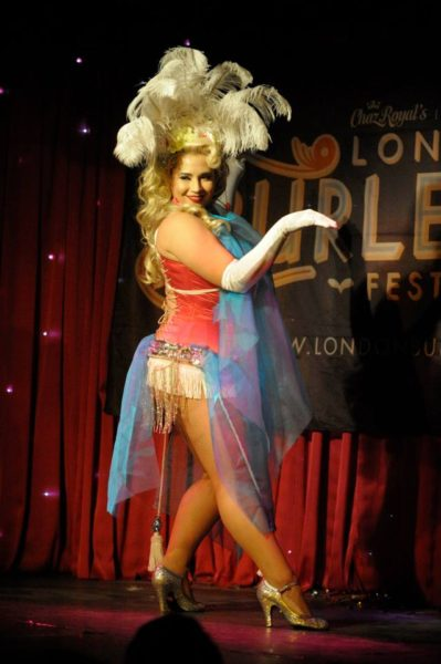 Frisky Business Burlesque, Frostine Shake, Blushin' Roulette
