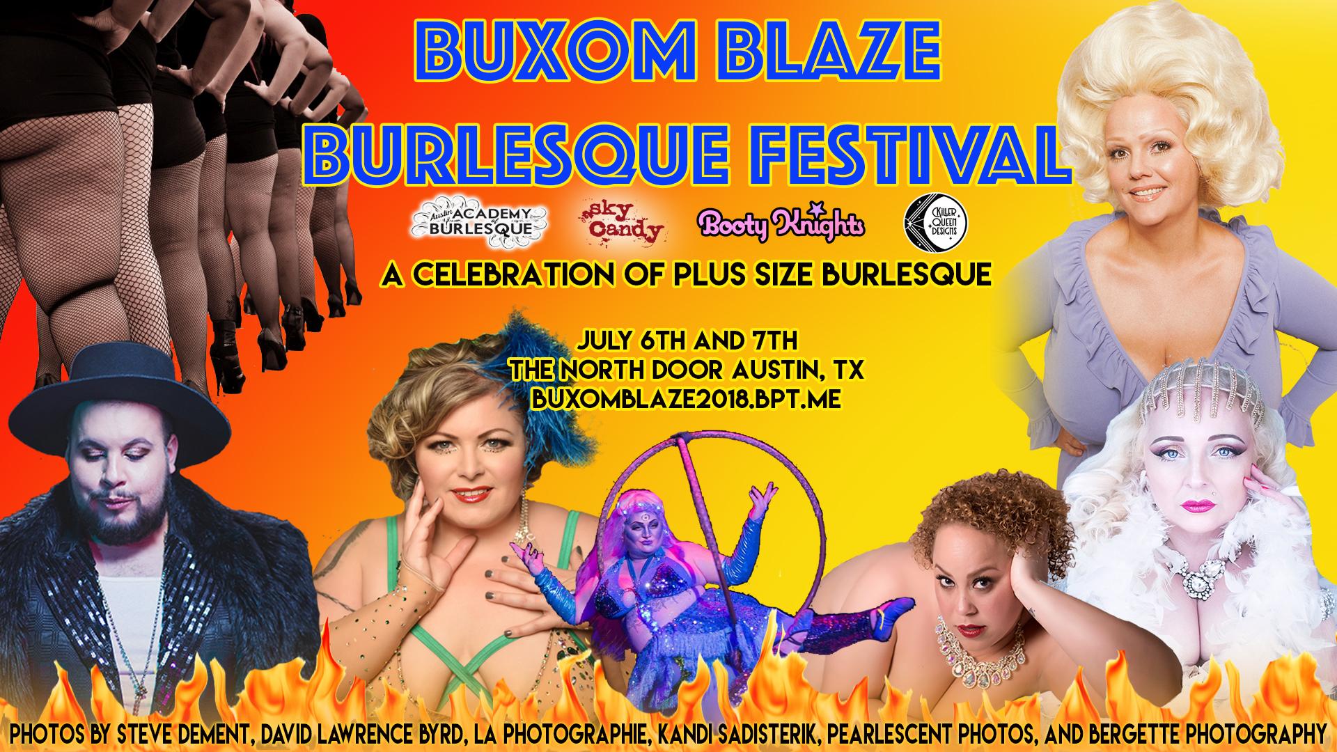 Buxome Blaze Burlesque Festival, Austin Burlesque, Burlesque Festival, Plus-sized burlesque