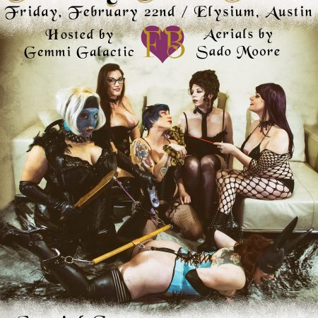 Frisky Business Burlesque, Frisky Fet-Tease, Austin Burlesque, Burlesque show, Austin Events, Things to do in Austin, Austin Entertainment, Fetish Burlesque, Fetish show, burlesque poster
